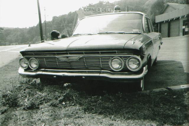 bw car vintage trix grain chevy impala ansco pixpanorama 1961impala 1961chevyimpala policeimpala 1961policeimpala