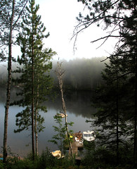 Lake St Peter (early morning) (ick Harris) Tags: lake ontario canada algonquin lakestpeter regioncottagecountry