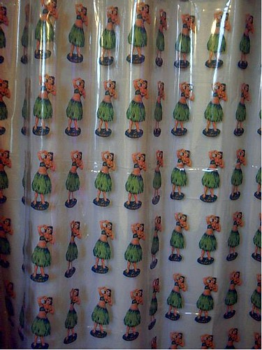 Hula Girls Shower Curtain