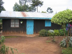 My quaint house. (jenly) Tags: peacecorps kenya 2005 silibwet