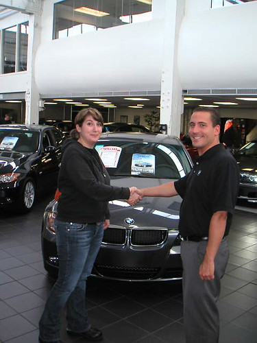 Dont let a car salesman talk you into buying more than you can afford.