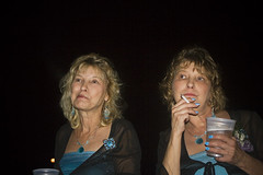 Twins (Eric Isaac) Tags: girls ohio party people woman drunk twins women funny drink smoke drinking smoking ericisaaccollageimage