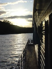 Houseboat Sunset 2 (sobriquet.net) Tags: australia murray river sunset sky houseboat