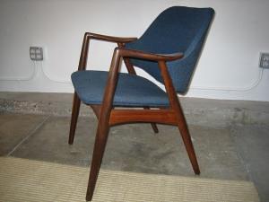 Danish Modern Teak chair Eames era Mid-century - $200 (mission district)