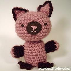kitty (Roxycraft) Tags: amigurumi softies plush mos crochet handmade