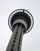 Auckland City Sky Tower (EssjayNZ) Tags: 2005 newzealand sky concrete grey frombelow lookingup auckland skytower essjaynz mc05negativespace taken2005 sarahmacmillan