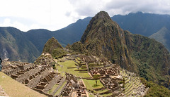 Machu Picchu wide angle