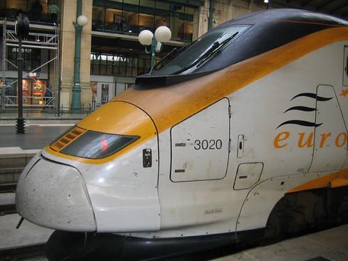 Comboio Londres até Paris e Bruxelas, Eurostar