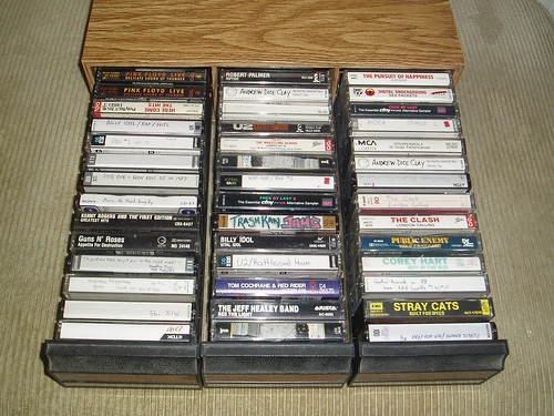 A Peek At My Cassettes