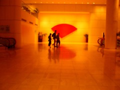 Walking By (Spacecake) Tags: red art singapore cityhall walkingby redcurve xgf02 x0201 x0202 x0203