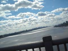 on the George Washington Bridge (Alvina) Tags: msride 2005 nyc georgewashingtonbridge