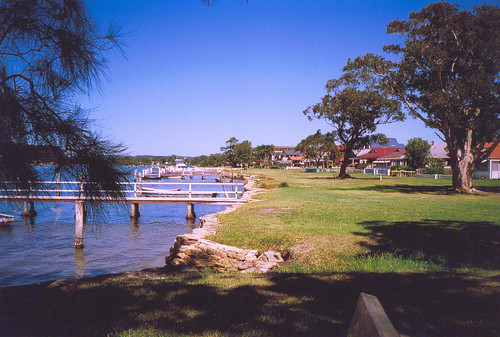 Foreshore from Brick Wharf