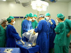 Ana's well-attended surgery