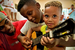waking soul ( Tatiana Cardeal) Tags: 2005 brazil people boys brasil digital magazine hope topf50 published child guitar sopaulo revista photojournalism documentary forsakenpeople orphanage criana carf diadema tatianacardeal streetkids favela slum ong ngo brsil socialchange thebigissue documentaire globalpoverty documentario childrenatriskfoundation