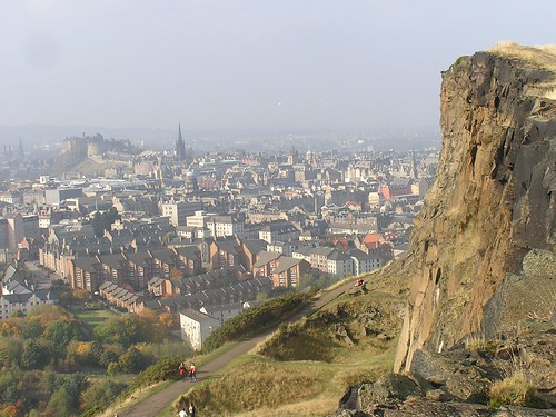 Edinburgh from Holyrood Park - flckr - jack_g