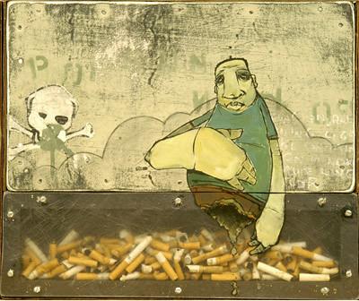 erik otto illustration painting artist smokes 7teen