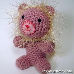 Lion #3 (Roxycraft) Tags: amigurumi softies plush mos crochet handmade