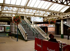 Nottingham Railway Station 4 (janet7r) Tags: nottinghamstation nottingham station steps ironwork urbanlandscape industrial