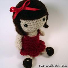 Ramona Peep 2 (Roxycraft) Tags: amigurumi softies plush mos crochet handmade