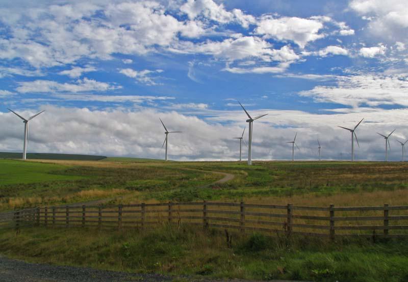 energia eolica in Scozia