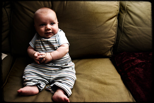 Ronan on couch