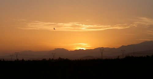 Sunset, s'Albufera salt marshes
