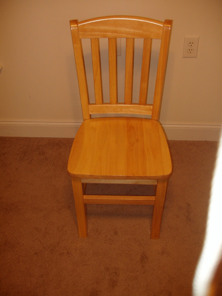 Dining Room Chair (One of four); Great Condition ($150)