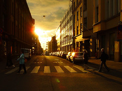 This day was a good day... (digikuva) Tags: street sunset topv111 backlight finland helsinki topf50 topv555 topv333 europe pentax topc50 heiluht 500v50f 1000 deletemedeleted 50f