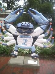 Johns Hopkins University Crab (BaltimoreGal) Tags: blue university maryland crab baltimore bluejays lacrosse johns hopkins bluecrab jhu johnshopkins crabtown