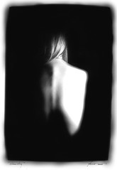 Loneliness (Hayden Yates) Tags: nude b w abstract woman loneliness dark form