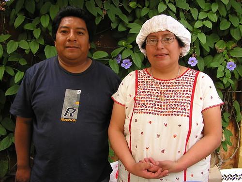Andrea y Noé