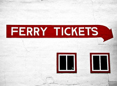 Urbanartski Remix Ferry Tickets (Andrew Morrell Photography) Tags: ferry tickets red minimal travel michigan stignace stark white urbanartskiremix 15fav