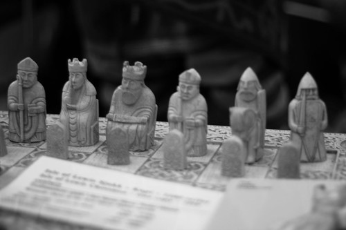 Nordic chess pieces