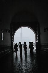 DSC_0370 (wchien) Tags: china soldier beijing  tiananmen sillhouette   flagdown