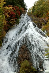 Yutaki Falls -  (luthor522) Tags: autumn japan waterfall nikon asia d70s nikko yumoto yutaki