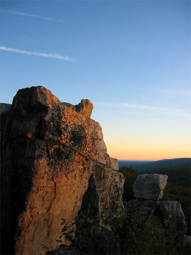 chimney rock, sky meadows