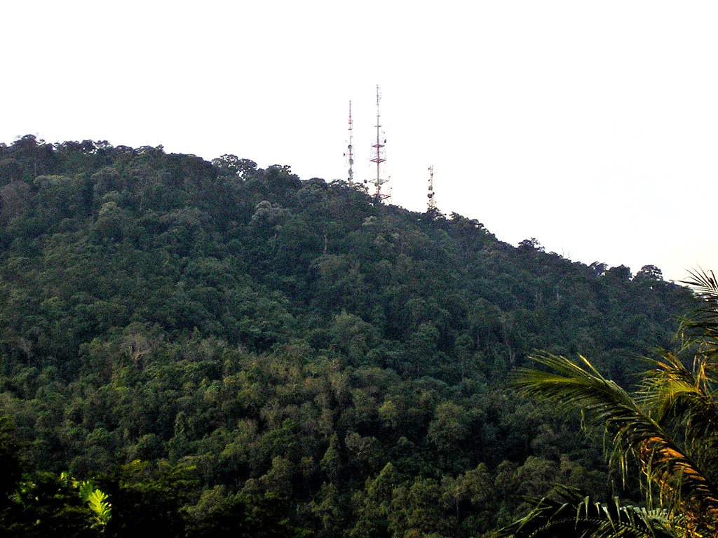 B.M. Recreational Forest # 61/61  :  Hill Top - 3 Telecommunication Towers