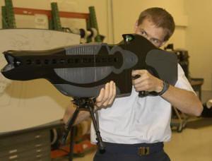 Thumb Armas láser para la policía de Estados Unidos