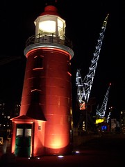 Leuvehaven (Nells Photography) Tags: lighthouse rotterdam mosaic nederland thenetherlands 100views nautical nells nells1 amomentcapgrp neldejong nellsphotography wbnawnl