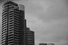 futuredwelling (Lú_) Tags: windows bw toronto ontario canada glass architecture construction apartments bestviewedlarge balconies penthouse inpassing condos apartmentbuilding condominiums apartmentbuildings masterclass mc05 mc05negativespace