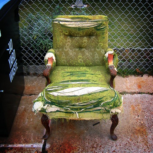 Sad Chair. Photo by Bill Keaggy