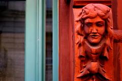 doorway (niznoz) Tags: nyc ny newyork nycpb geotagged gargoyle 10025 geo:lat=40799841 geo:lon=73964682 notagargoylebecauseitdoesntchannelwaterbutyouknowwhatimean