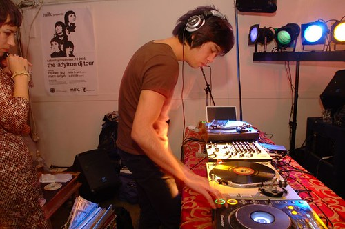 Reuben Wu de Ladytron, DJ Set