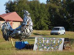 Car Bumper Rooster at ArtWurks, Brundidge AL