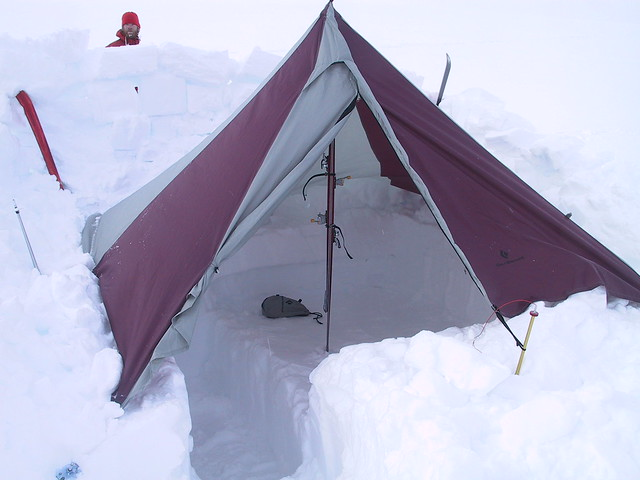 Image & Recommend one man 4 season tent : Gear