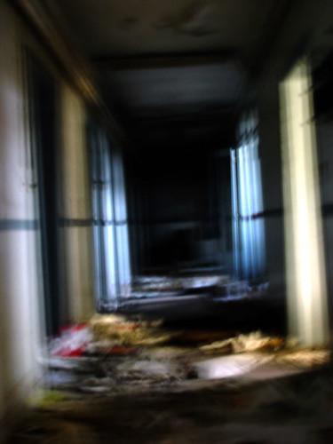 Buda Marly, corridor blur