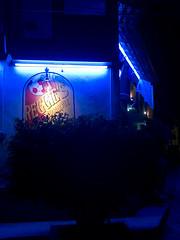 Reggie's (Waywuwei) Tags: bucerias nayarit mexico reggies color night light blue availablelight