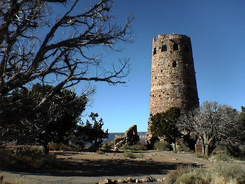 Grand Canyon Watchtower at Desert View