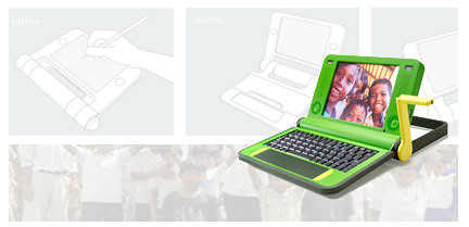 $100 hand-crank laptop for the globe's impoverished children from MIT