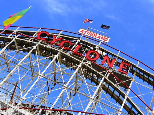 The Cyclone at Astroland - Coney Island, NY
